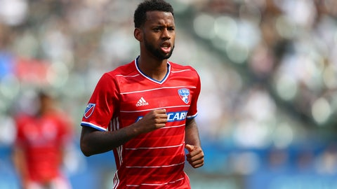 Right back: Kellyn Acosta