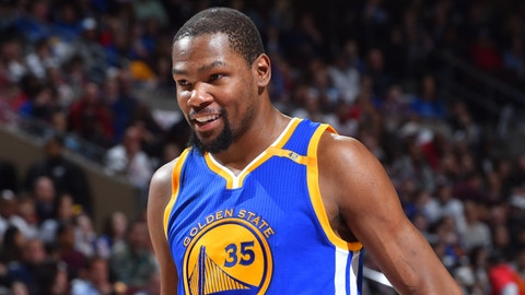 Warriors F Kevin Durant