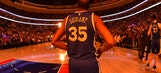 NBA Title Odds: Warriors Remain Favorites Despite Kevin Durant's Injury