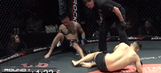 MMA fight ends with incredible double knockout