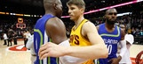 Hawks LIVE To Go: Cavs' record-setting 3-point barrage holds off Hawks' comeback