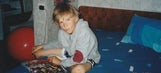 We uncovered these never before seen photos of Kristaps Porzingis as a kid