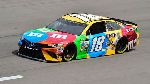 Kyle Busch, (1 playoff point)