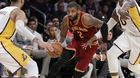 Kyrie Irving, PG, Cleveland Cavaliers