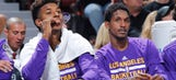 Nick Young and Lou Williams look like they're negotiating a debt on Twitter