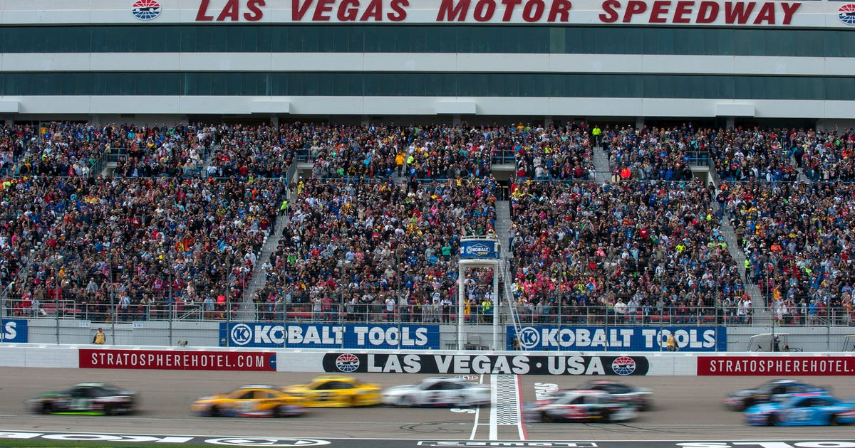9 historical facts about las vegas motor speedway fox sports for Atlanta motor speedway lights 2017