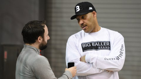 LaVar has a headstart thanks to the internet