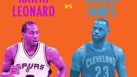 The case for LeBron over Leonard