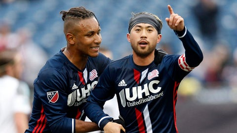 The Revs look ready to step up