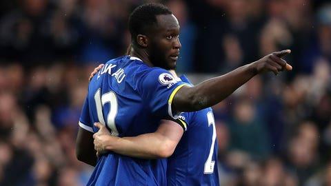 Everton - 57 points, 5 matches left