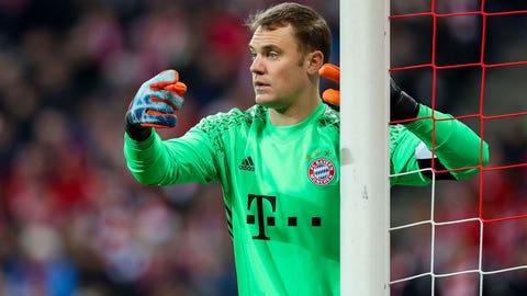 Goalkeeper: Manuel Neuer (Bayern Munich)