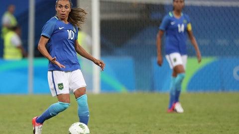 MF: Marta, Brazil (FC Rosengard)