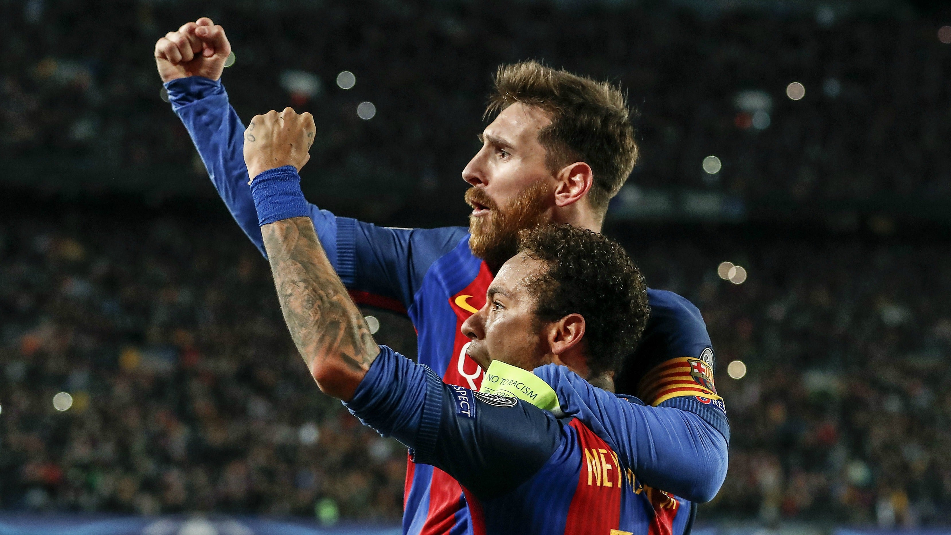 The Best Photos From Barcelona S Crazy Win Over Psg Fox Sports