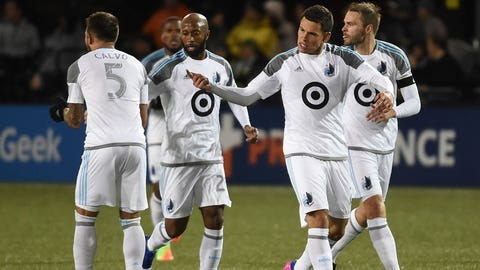 The Loons might need to use some of their attacking speed to help out on defense