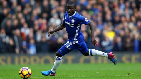 Having N'Golo Kante, of course