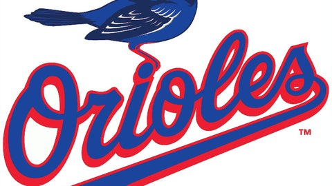 Orioles (in Blue Jays colors)