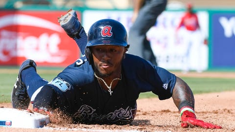 Braves call up 20-year-old infielder Ozzie Albies