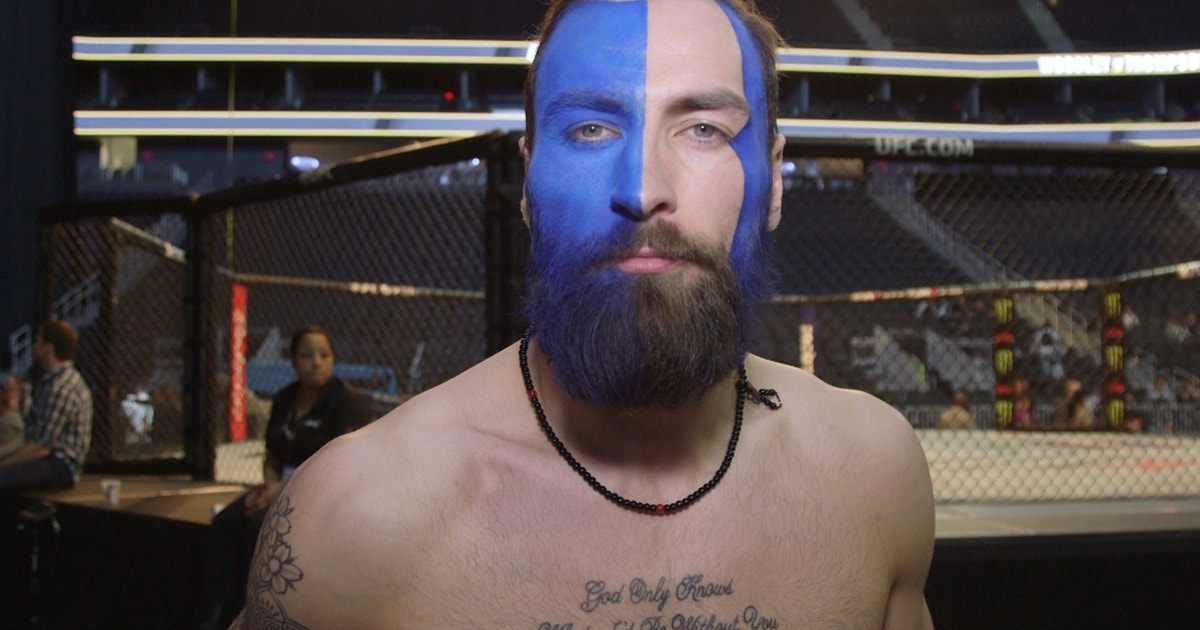 This UFC fighter's face paint wins the UFC 209 weigh-ins ...