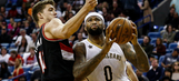 Cousins leads Pelicans to blowout win over Blazers