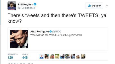 Phil Hughes, Twins pitcher
