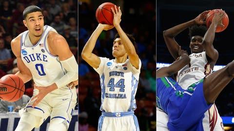 UNC, Duke's Tatum star in opening round; Florida State raises questions