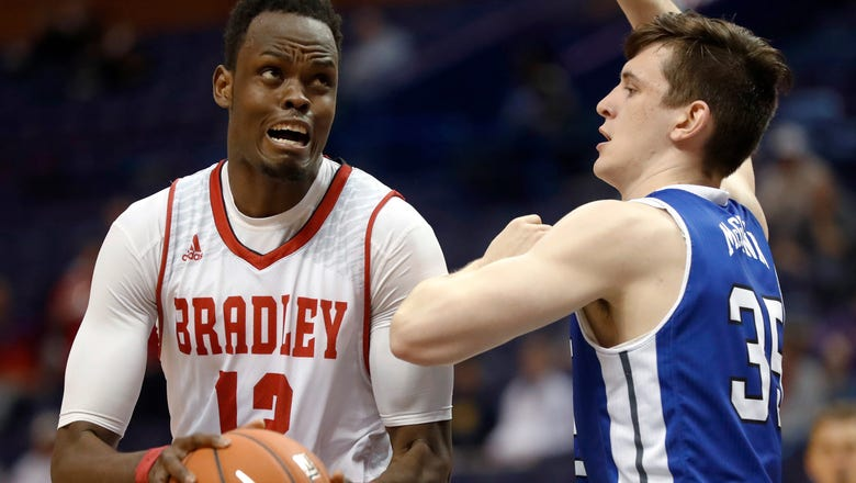 Bradley beats Drake to move on to MVC quarterfinals