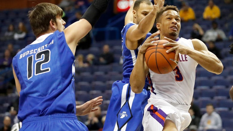Evansville advances in MVC after surviving Indiana State rally