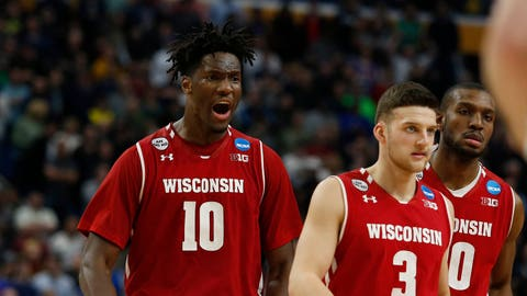 East Region: No. 8 Wisconsin vs. No. 4 Florida (Friday, approximately 9:59 p.m. ET)