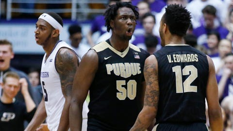 Los Angeles Lakers: Caleb Swanigan, PF/C, Purdue (sophomore)