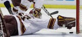 Gopher men's hockey loses in double overtime to Penn State