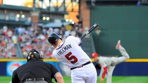 10. Freddie Freeman in 2013