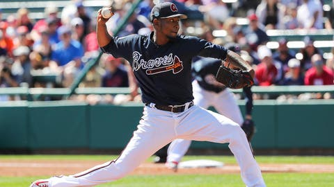 1. No surprise here as Julio Teheran will get his fourth straight Opening Day start