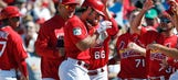Grichuk's walk-off single rallies Cardinals over Twins