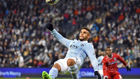 Sporting Kansas City's attack still isn't clicking