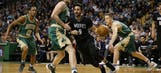Timberwolves fall behind in second half, lose in Boston
