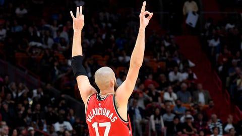 Toronto Raptors (44-29)