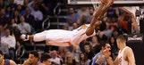 Suns hold off Westbrook, Thunder on McCoy's big night