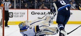 Blues fall 3-0 to Jets as losing streak reaches five games
