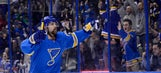 Blues get Berglund back against wounded Ducks