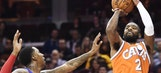 James has triple-double; Cavs rout Pistons 128-96