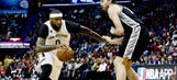 Leonard leads Spurs past Pelicans, 101-98 in OT