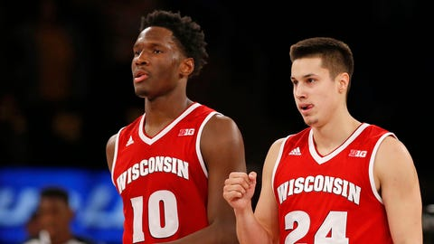 Bronson Koenig and Nigel Hayes (↓ DOWN)