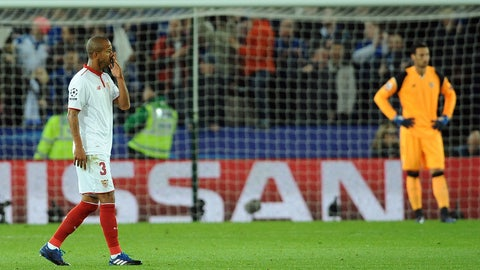 Poor luck continued to haunt Sevilla