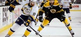 Predators LIVE To GO: Preds win streak snapped at 4, lose to Bruins 4-1