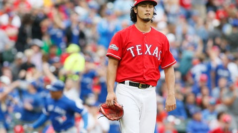 Texas Rangers (95 wins in 2016)
