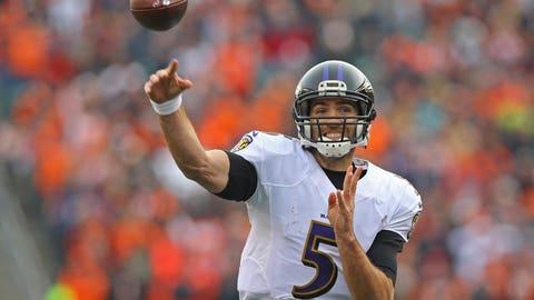 November 19: Baltimore Ravens at Green Bay Packers, 1 p.m. ET
