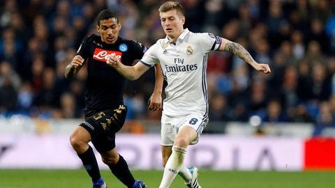 Midfielder: Toni Kroos