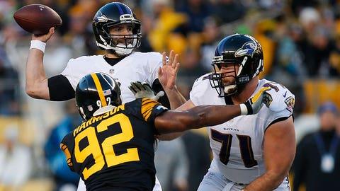 December 10: Baltimore Ravens at Pittsburgh Steelers, 8:30 p.m. ET