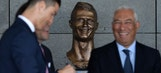 The internet absolutely roasted the bizarre new Cristiano Ronaldo sculpture