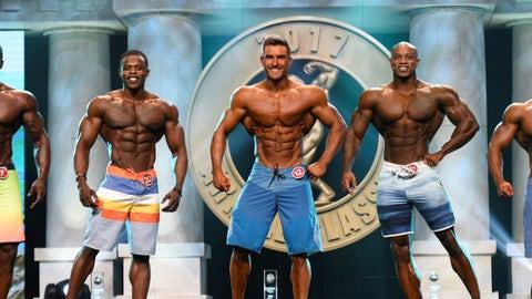 Mens Physique winner Ryan Terry